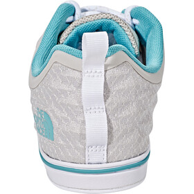 The North Face Base Camp Flow AP Sneakers Women Rainy Day Ivory/Agate Green